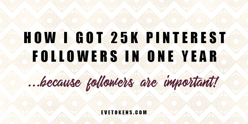 Click to learn how I grew my Pinterest followers to 25k in just one year! - Pinterest marketing for small businesses!