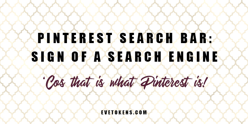 Using the Pinterest search bar will take you into Pinterest's guided search. This is essentially a page of search results based on your key search term, but with additional search tiles underneath.
